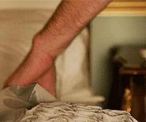 gif, armie hammer, and the man from uncle image