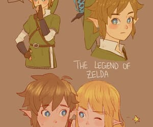 adventure, tloz, and link image