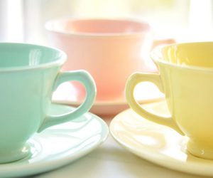 pastel, cup, and pink image