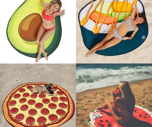 avocado, b, and pizza image