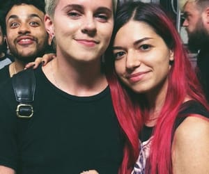 lynn gunn, pvris, and brian macdonald image