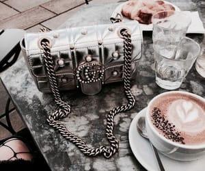 gucci, fashion, and coffee image