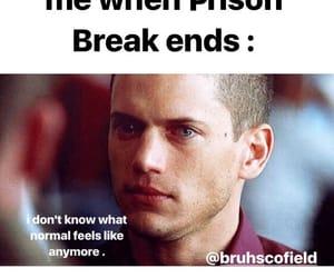 memes, prison break, and series image