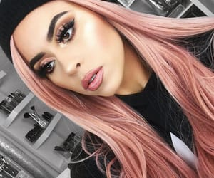goals, hair, and pastel image