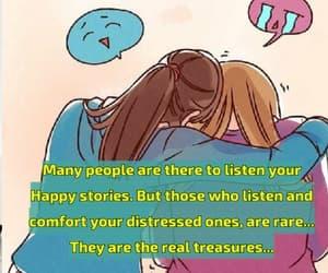 buddies, care, and feelings image