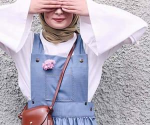 hijab, style, and حجاب image