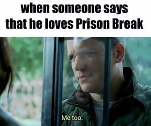 meme, prison break, and series image