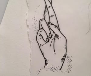 beautiful, cool, and hand image