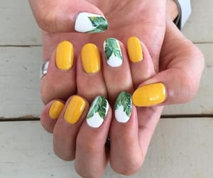 nails, summer, and fashion image