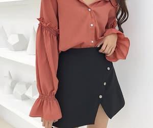 asian fashion, fashion, and mini skirt image