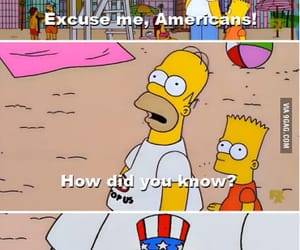 americans, bart, and homer image