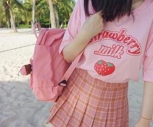 fashion, pink, and strawberry image