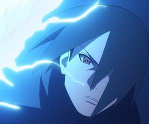 sasuke, amaterasu, and rinnegan image