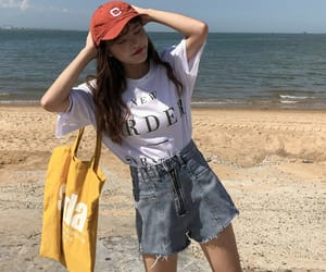 aesthetic, casual, and fashion girl image