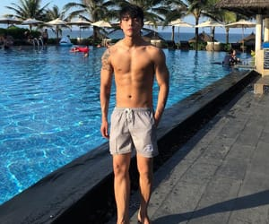 abs, boy, and cool image