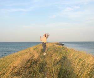 beach, exploring, and Road Trip image
