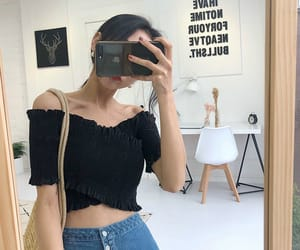 aesthetic, asian fashion, and asian girl image