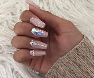 nail art, nail inspo, and nail goals image