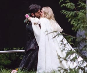 once upon a time, captain swan, and hook image
