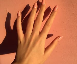 nails, aesthetic, and hand image