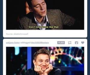 tom hiddleston, funny, and loki image
