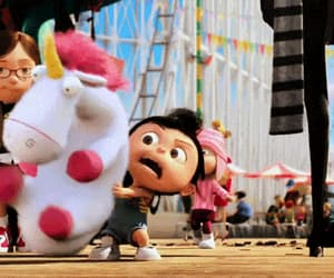 gif, fluffy, and despicable me image