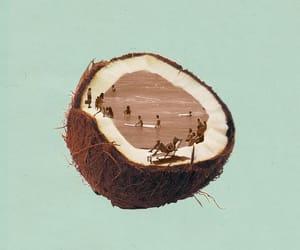 art, beautiful, and beach image