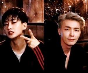 donghae, hyukjae, and shipp image
