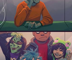 2d, ace, and gorillaz image