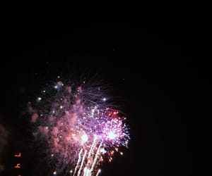 aesthetic, fireworks, and fourth of july image