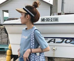 asian fashion, asian girl, and hair image