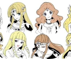 wind waker, zelda, and twilight princess image