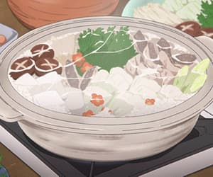 anime, food, and gif image