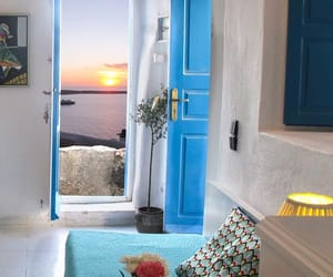 aesthetic, apartment, and Greece image