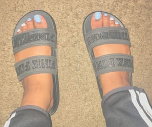 shoes, victoria secret, and slides image