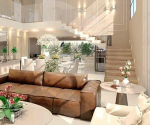 decoration, white, and living room image