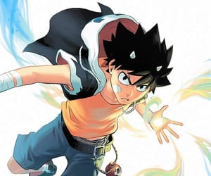 Action, magic, and anime image