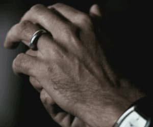 ring, sad, and wife image