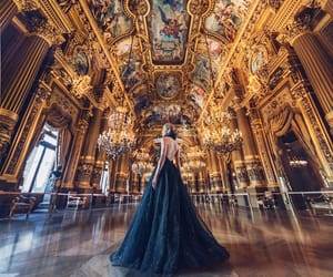 dress, black, and castle image
