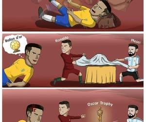 comics, oscar, and Ronaldo image