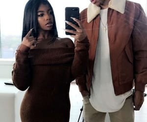 couple, Relationship, and fashion image