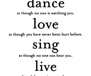 black, sing, and love image