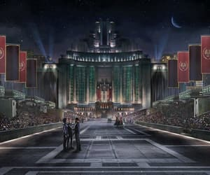 capitol, hunger games, and thg image