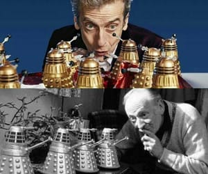 doctor who, peter capaldi, and time lord image