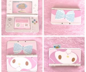 my melody and pink image
