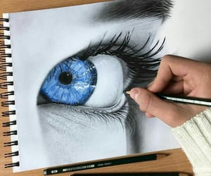 art, eye, and فن image