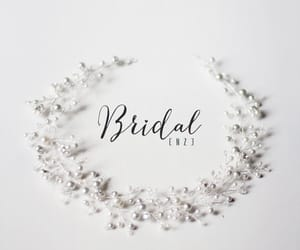 etsy, bridal headband, and crystal headband image