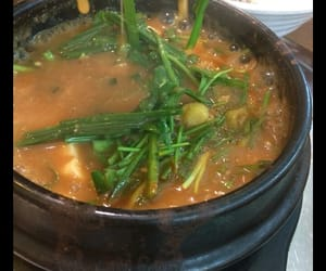 korea, soup, and koreanfood image