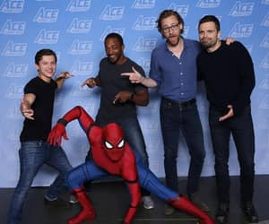 sebastian stan, anthony mackie, and tom holland image