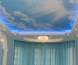 aesthetic, ceiling, and sky image